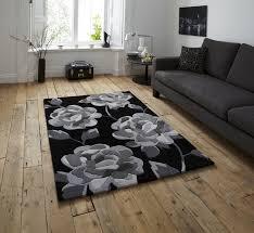 hong kong black grey rug hk 793