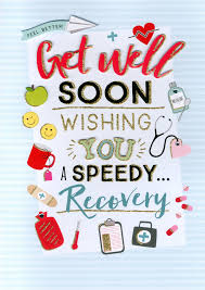 Get Well Card Get Well Soon Gigantic Greeting Card