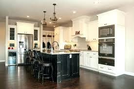 dark cabinets white island off white kitchen island awesome cabinets with dark antique white cabinets black island