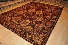 persian design handmade vegetable dye maroon burdy top quality rug