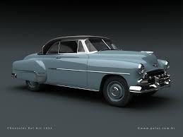 1950 and 1951 Chevrolet Bel Air | SMCars.Net - Car Blueprints Forum