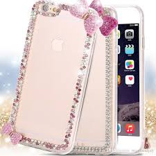 samsung galaxy s6 phone cases for girls. cool for iphone 6/6plus/6s/6s plus samsung galaxy s6/s6 edge lovely girl bling crystal diamond bow rhinestone case slim clear cover phone customized s6 cases girls