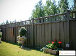 The Talmedge  Wood Privacy Fence | Pictures Per Foot Pricing
