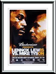 lennox lewis poster. tel: lennox lewis poster