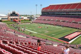 seat view for cardinal stadium section 225 row ff