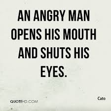Anger Quotes Gorgeous Cato Anger Quotes QuoteHD