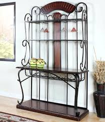 backers rack cherry and bronze bakers rack chrome bakers rack with wood cutting board backers rack dome bakers