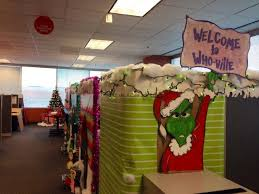 Christmas decorating themes office Holiday Christmas Ornaments Who Ville Cubical Decoration Grinch Theme Pinterest Christmas Cubicle Decorating Themes Office Decorationschristmas Gabkko Christmas Ornaments Cubicle Christmas Decorating Themes Cubicle