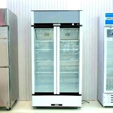glass front refrigerator for home glass door mini ors or front freezer double fridge glass front glass front refrigerator for home