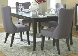 fabric dining room chairs chair covers for uk best material to reupholster seat of upholstered sets perfect bedrooms o grey canada black ultra modern