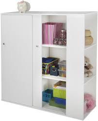 Storage Cabinet Sliding Doors Kids Storage Cabinet Sliding Door Toy Book Organizer Shelves Room