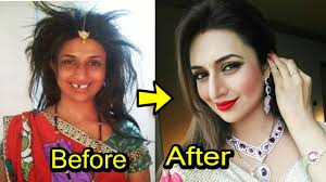 top 10 famous tv actresses without makeup 2018 shocking looks