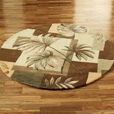tropical area rugs round