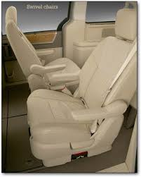 swivel chairs the volkswagen routan minivan was sold only in north america from 2008 into the next generation chrysler group president tom lasorda said