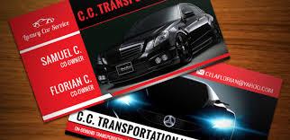 Car Service Business Cards Auto Services Business Card Templates