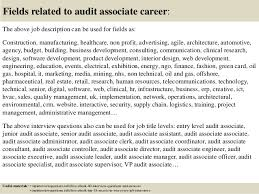 Audit Associate Job Description Top 10 Audit Associate Interview Questions And Answers