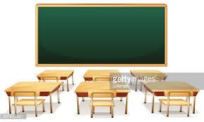 classroom table vector. classroom table vector