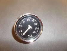 mechanical tachometer vintage stewart warner mechanical tachometer nos unused 4000 rpm