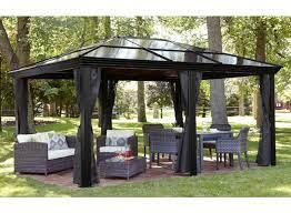 polycarbonate roof gazebo review