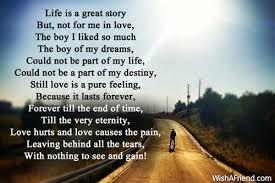 10169 sad love poems for him