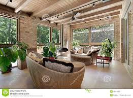 sunroom wicker furniture. Download Sunroom With Wicker Furniture Stock Image - Of Residential,  Real: 19321855 Sunroom Wicker Furniture C