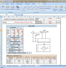 Small Picture Isolated Footing Design Excel sheet Civil Engineers PK