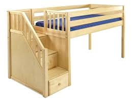 kids bunk bed with stairs. Exellent Bed Kids Loft Bed With Stairs Low Twin   Throughout Kids Bunk Bed With Stairs