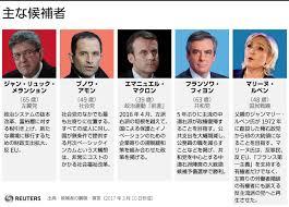 「2017年仏選挙立候補者」の画像検索結果