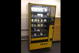 Vending Machines Parts Custom IKEA Spare Parts Vending Machine Canada VendingMachinePorn