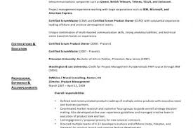 agile scrum product owner resume example scrum master resume