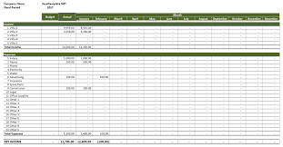 Rental Income Statement Template