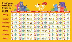 6 Months Baby Food Chart For Indian Infant Slurrp Farm