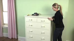 how to secure your large furniture to the wall to ensure safety pottery barn kids you