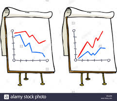 Doodle Growth Chart On A White Background Raster Version