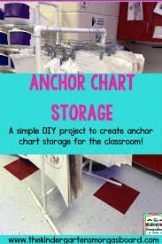 Anchor Chart Holder Diy Anchor Chart Storage The Kindergarten Smorgasboard