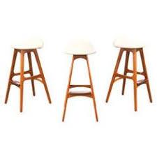 erik buck teak bar stools for o d mobler bar countercounter stoolsbar stoolsteakdining tablemid