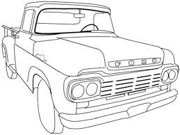 easy pickup truck coloring pages fresh trucks collection printable with chevy