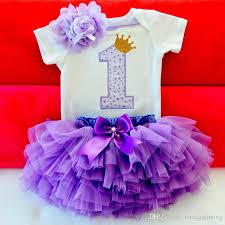 2019 Baby Summer Girl Dress First 1st Birthday Cake Smash Outfits