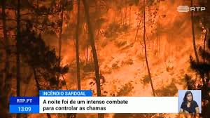 Várias aldeias evacuadas no Sardoal durante a noite
