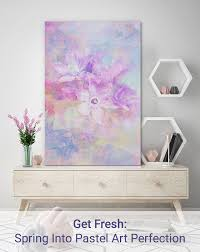 get fresh spring into pastel art perfection on pastel wall art au with get fresh spring into pastel art perfection wall art prints
