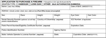 gun background check form. Exellent Form Step 2 U2013 Four 4 Copies Of The Form DPS3C Must Be Completed And  Distributed To Buyer Local Authorities Of Selleru0027s Residing County DESPP Intended Gun Background Check