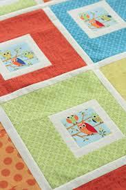 Project 12 Quilts: Little Owls baby quilt pattern / tutorial ... & Project 12 Quilts: Little Owls baby quilt pattern / tutorial Adamdwight.com