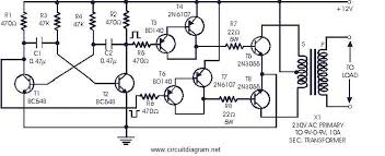 12v to 220v inverter circuit diagram 2n3055 motorcycle 12 volt to 220 volt inverter 500w 12v to 220v inverter circuit diagram 2n3055