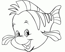 Small Picture Little Mermaid Fish Coloring Pages Coloring Pages