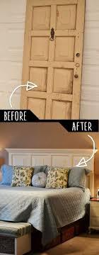 39 clever diy furniture hacks door headboards living room