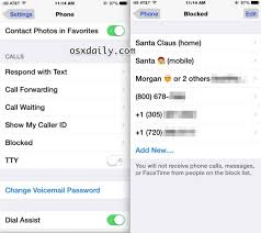Unblocking a number on iphone 5s and it still stays blocked. How To Unblock A Caller On Iphone Osxdaily
