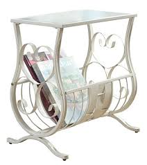 Elegant Magazine Holder Magnificent This Elegant Magazine Table Is Both Stylish And Multifunctional It