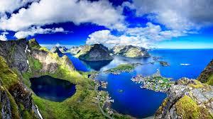 Lofoten Islands Amazing Panorama Norway ...