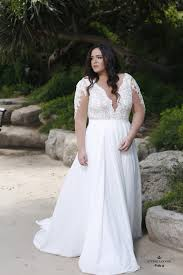 Beautiful plus size winter wedding dress ideas Dream Wedding Petra Gown By Studio Levana Find Stockists Here Dhgate 70 Stunning Plus Size Wedding Dresses For 20182019 Brides Junebug