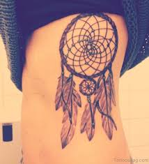 Dream Catcher Tattoo Stencils 100 Ravishing Dreamcatcher Tattoos On Rib 96
